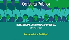 Consulta Pública - Referencial curricular municipal